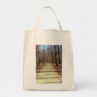 Winter Afternoon Tote Bag Grocery Tote Bag