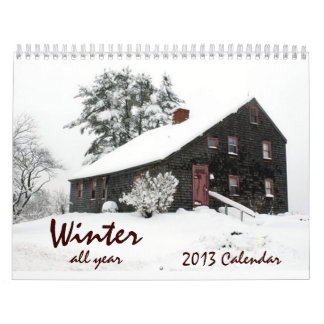 Winter All Year Wall Calendars