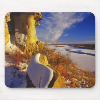 Winter along the Missouri River near Mouse Pad