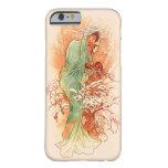 Winter - Alphonse Mucha Art Nouveau iPhone 6 Case
