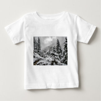 Winter amongst the clouds baby T-Shirt