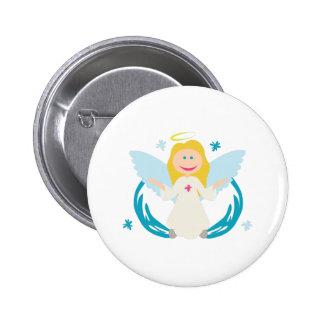 Winter Angel Buttons