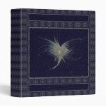 Winter Angel Fractal Art Vinyl Binder