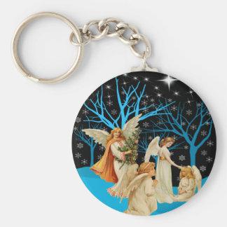 Winter Angels Keychain