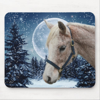 Winter Arabian #1 Mouse Pad