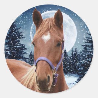 Winter Arabian #2 Stickers