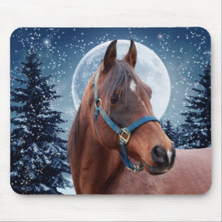 Winter Arabian #3 Mouse Pad