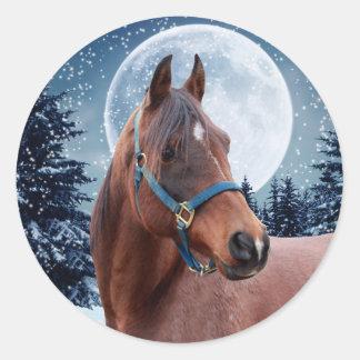 Winter Arabian #3 Stickers