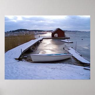 Winter Archipelago Posters