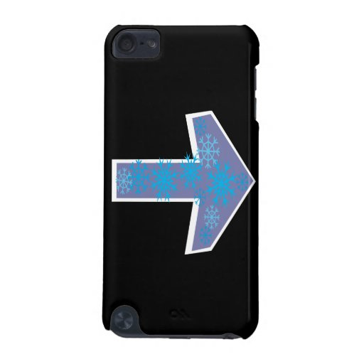 Winter Arrow Right iPod Touch (5th Generation) Covers