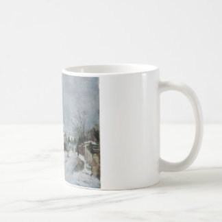 Winter at Barbizon by Ion Andreescu Classic White Coffee Mug