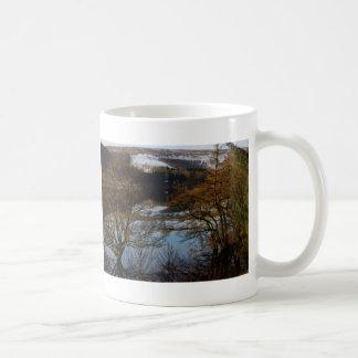 Winter at Derwent Reservoir Coffee Mug