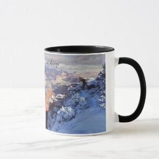 Winter at Mather Point Mug