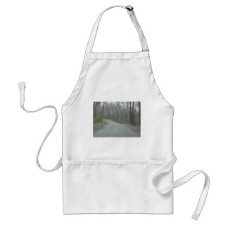 Winter at Natchez Trace Parkway MS Adult Apron
