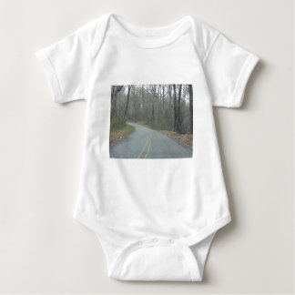 Winter at Natchez Trace Parkway MS Baby Bodysuit