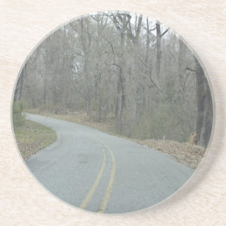 Winter at Natchez Trace Parkway MS Beverage Coasters