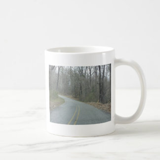 Winter at Natchez Trace Parkway MS Coffee Mug