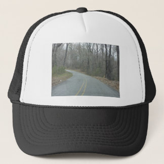 Winter at Natchez Trace Parkway MS Trucker Hat