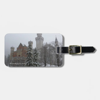 Winter at Neuschwanstein Castle Bag Tag