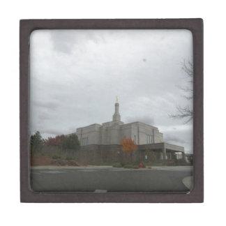 Winter at Snowflake Mormon Temple Premium Gift Box