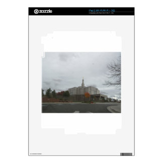Winter at Snowflake Mormon Temple Decal For The iPad 2