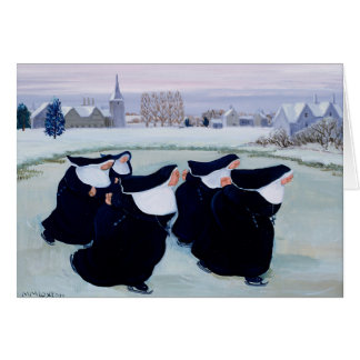 Winter at the Convent Greeting Card