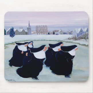Winter at the Convent Mouse Pad
