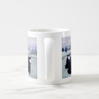 Winter at the Convent Classic White Coffee Mug
