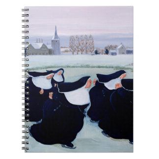 Winter at the Convent Spiral Note Book