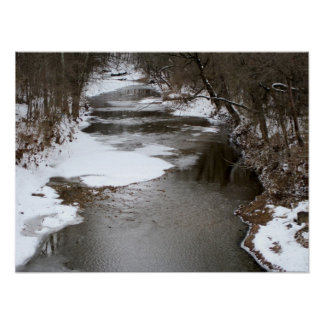 Winter at the Creek Print