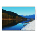 Winter at the River Greeting Card