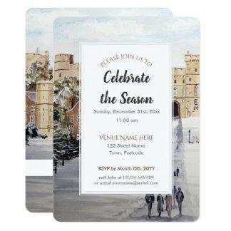 Winter at Windsor Castle Festive Season Invitation