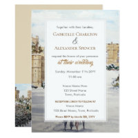 Winter at Windsor Castle Wedding Invitation
