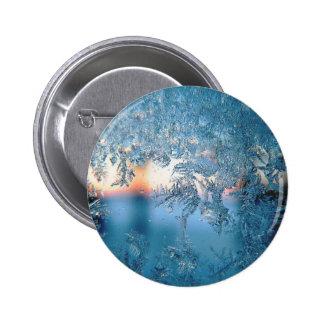 Winter badge button