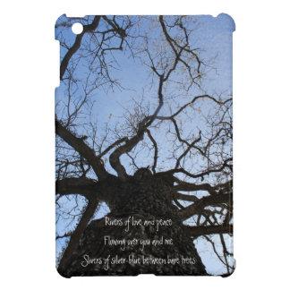 Winter Bare Tree in Blue Sky Case For The iPad Mini
