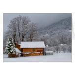 Winter Barn Holiday Card