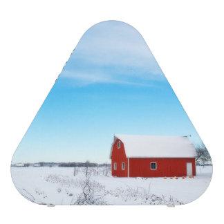 winter Barn Image Bluetooth Speaker