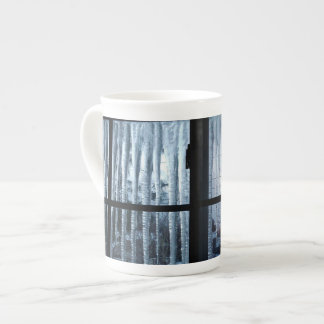 WINTER BARS ICICLES bone china Tea Cup