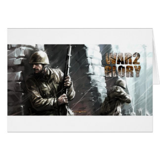 winter battle greeting cards