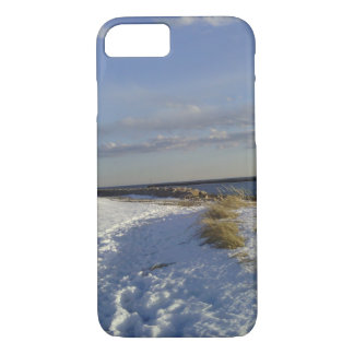 Winter Beach barely there iPhone 7 case