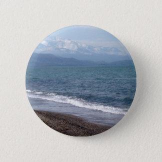 Winter Beach Button