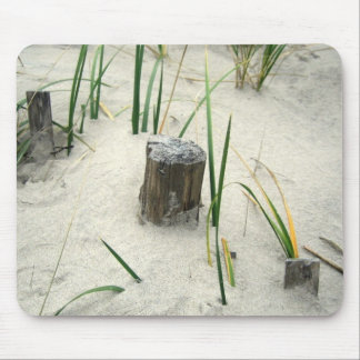 Winter Beach Mouse Pad