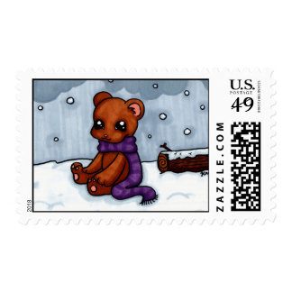 Winter Bear Stamp