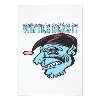 Winter Beast 2 Card