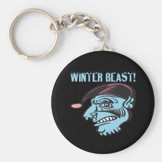 Winter Beast 2 Key Chains