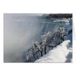 Winter Beauty: Niagara Falls Card