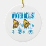 Winter Bells Christmas Tree Ornament