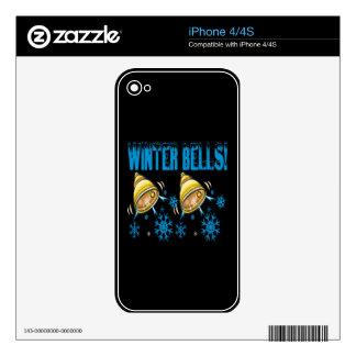 Winter Bells iPhone 4 Skin
