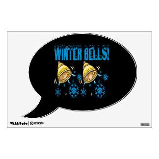 Winter Bells Wall Decal
