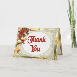 Winter Bells Wedding - Thank You card